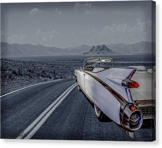 1959 Cadillac Eldorado Cool Night Canvas Print