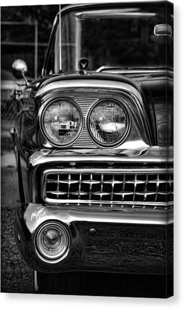 Turn Signals Canvas Print - 1959 Ford Fairlane 500 by Gordon Dean II