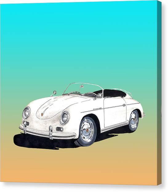 1959 Porsche Speedster Canvas Print