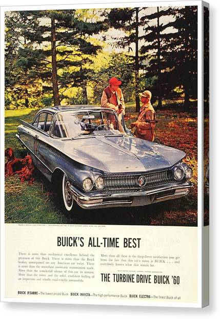 1960 - Buick Lesabre Sedan Advertisement - Color Canvas Print