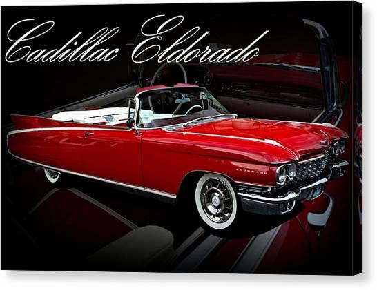 1960 Cadillac Convertible El Dorado  Canvas Print