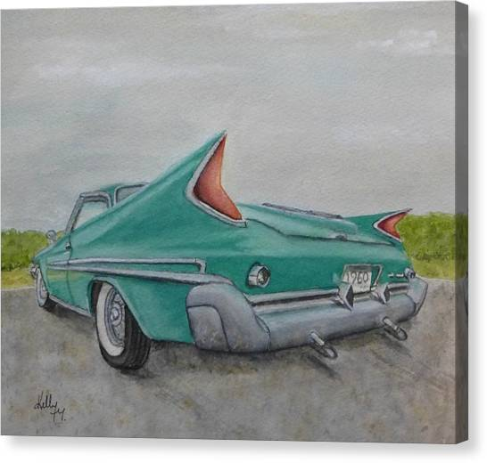 1960 Classic Saratoga Chrysler Canvas Print