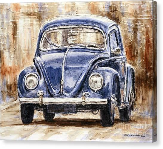 1960 Volkswagen Beetle Canvas Print