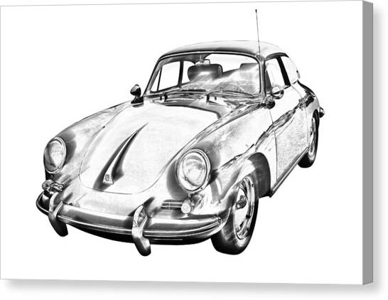 Porsche 356 Canvas Prints Page 4 Of 11