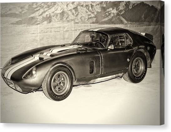 1964 Cobra Daytona Coupe Canvas Print