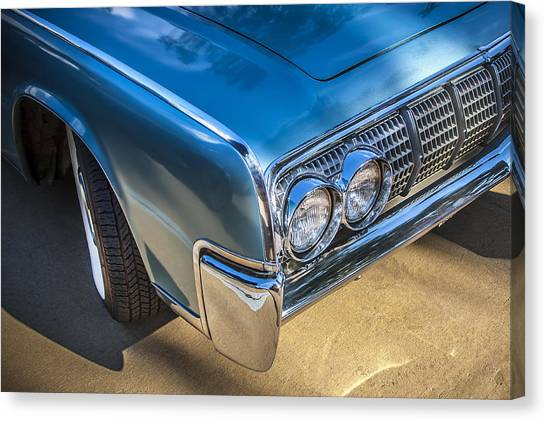1964 Lincoln Continental Convertible  Canvas Print