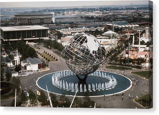 1964 Worlds Fair New York City Canvas Print by Kevin Snider