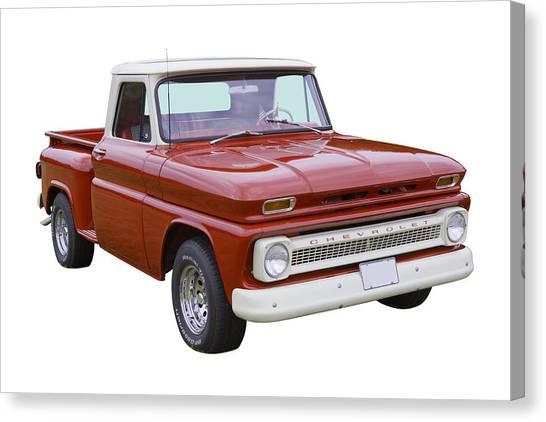 1965 Chevrolet Pickup Truck Canvas Print