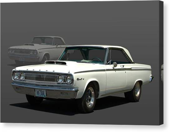 1965 Dodge Coronet 440 Canvas Print
