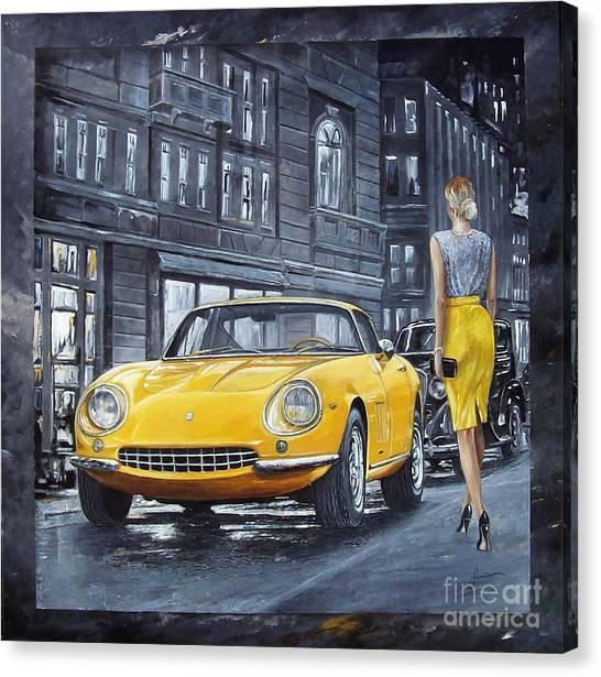 1965 Ferrari 275 Gtb Canvas Print