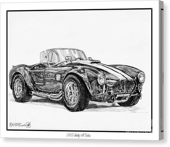 1965 Shelby Ac Cobra Canvas Print