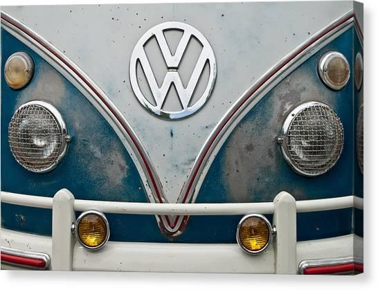 1965 Vw Volkswagen Bus Canvas Print