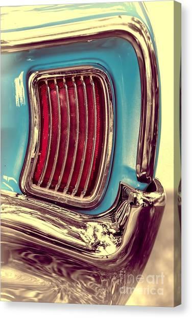 1966 Pontiac Tempest Taillight Canvas Print