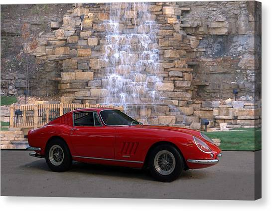 1967 Ferrari 275 Gtb Canvas Print