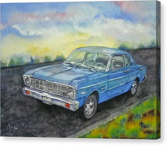 1967 Ford Falcon Futura Canvas Print