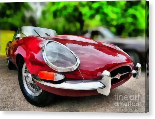 1967 Jaguar E Type Canvas Print
