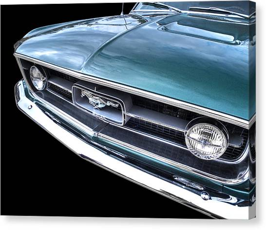 1967 Mustang Grille Canvas Print