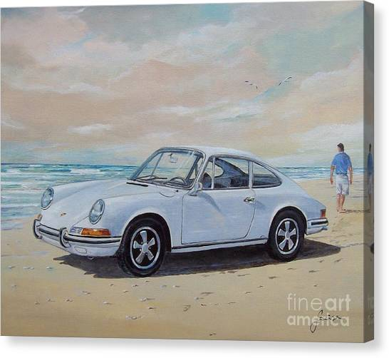 1967 Porsche 911 S Coupe Canvas Print