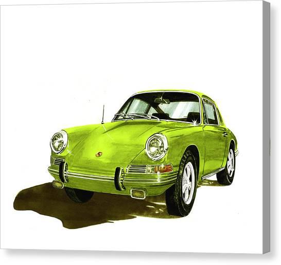 1967 Porsche 911  Canvas Print