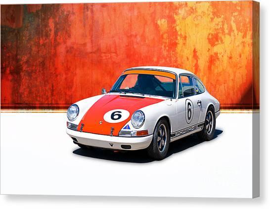 1968 Porsche 911 Canvas Print