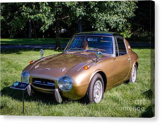 1968 Toyota Sports 800 Canvas Print