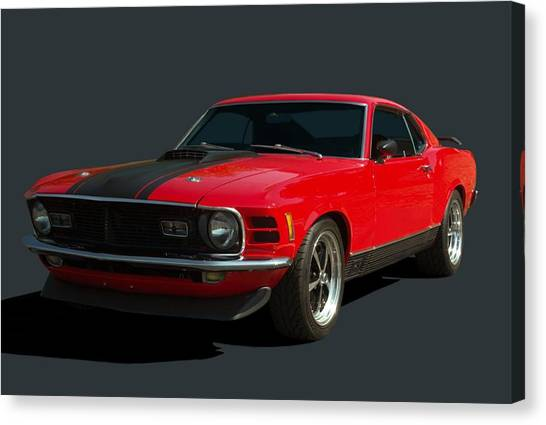 1970 Mustang Mach 1 Canvas Print