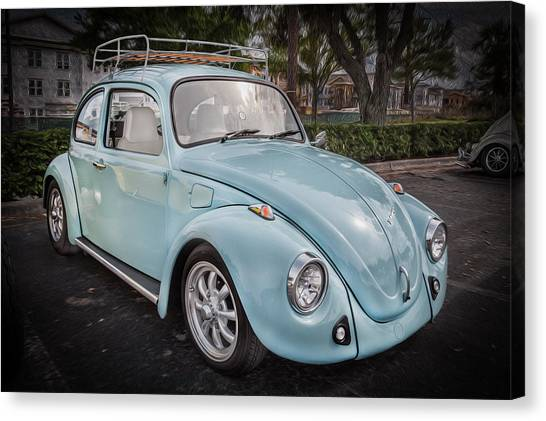 1974 Volkswagen Beetle Vw Bug Canvas Print