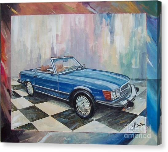 1976 Mercedes-benz 450 Sl Canvas Print