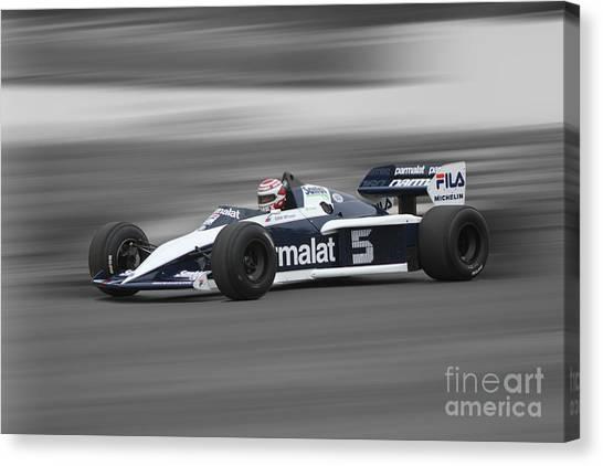1983 Brabham Bmw Bt52 Canvas Print