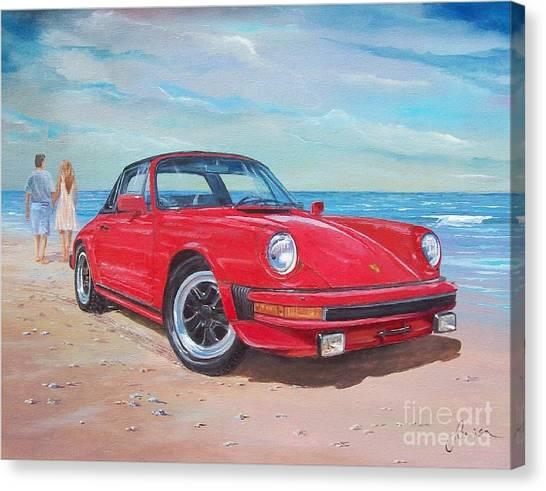 1985 Porsche 911 Targa Canvas Print