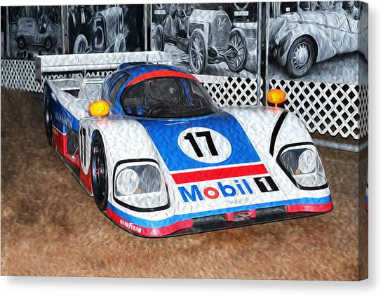 1989 Aston Martin Amr1/4 Canvas Print