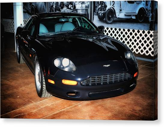 1997 Aston Martin Db7 Canvas Print