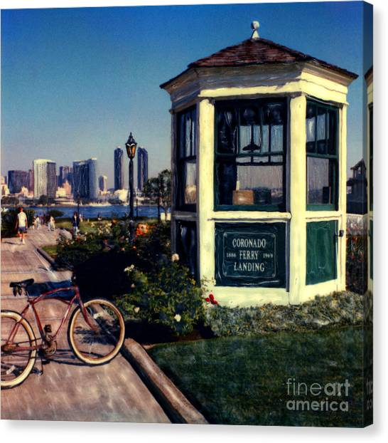 1st And Orange Ave. Canvas Print