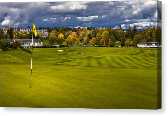 Prints For Sale Kings Golf Course Gleneagles Canvas Print
