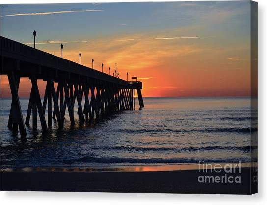 1st Sunrise Of 2015 - 4 Canvas Print