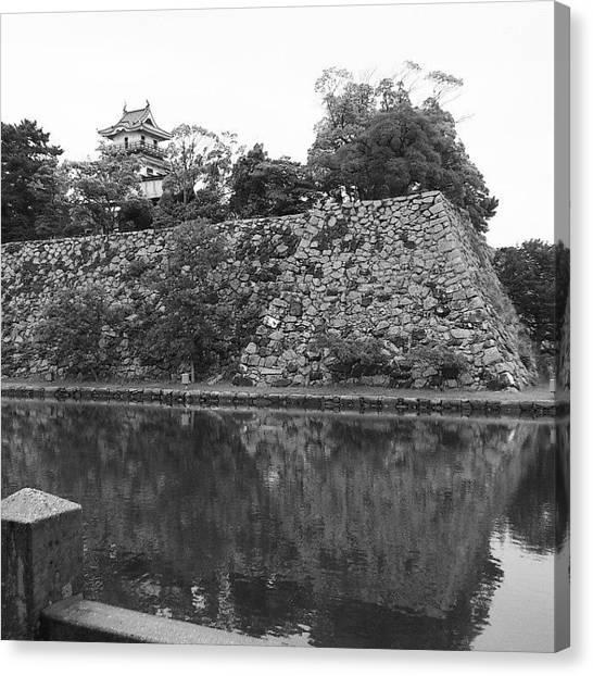 Samurai Canvas Print - Castle 2 by Yoshikazu Yamaguchi