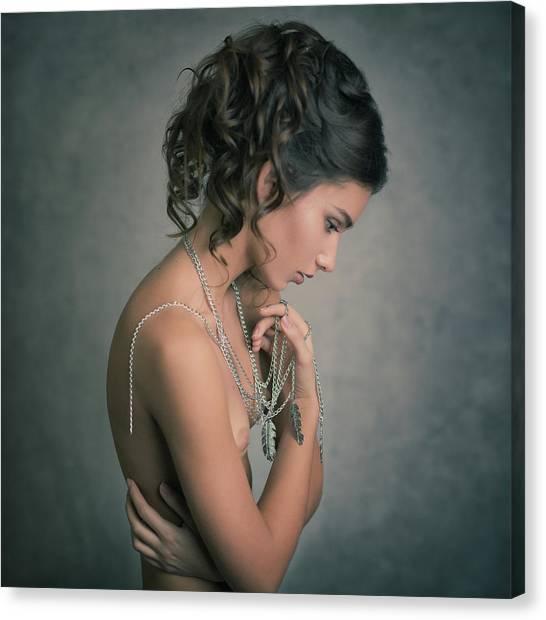 Necklace Canvas Print - *** by Yuri Shevchenko