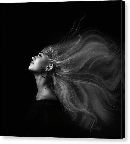 Flowing Canvas Print - ... by Zachar Rise