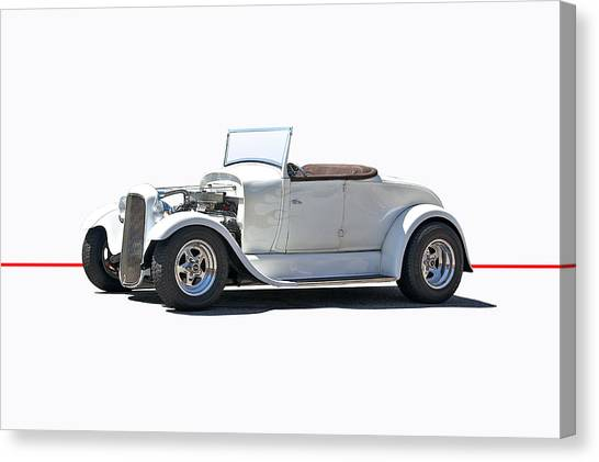 1930 Ford Model A Roadster Canvas Print by Dave Koontz
