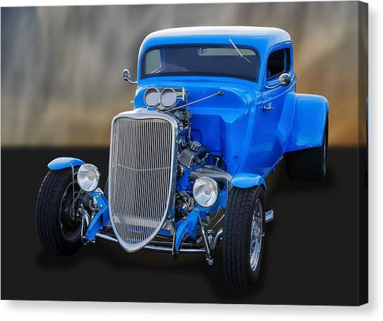 1933 Ford 3-window Coupe   Canvas Print