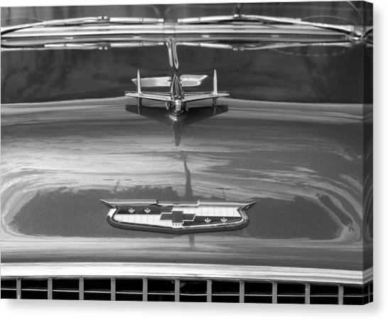 1955 Chevrolet Bel Aire Canvas Print