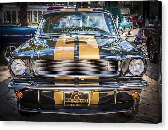 1966 Ford Shelby Mustang Hertz Edition  Canvas Print