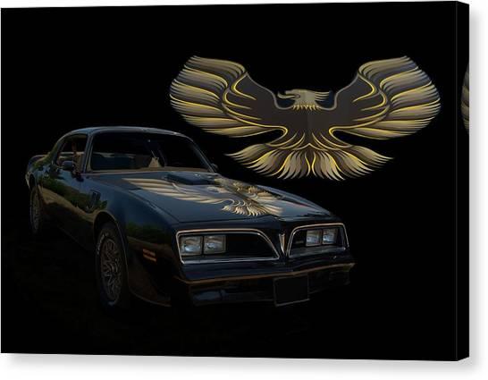 1978 Canvas Print - 1978 Pontiac Trans Am  by Tim McCullough