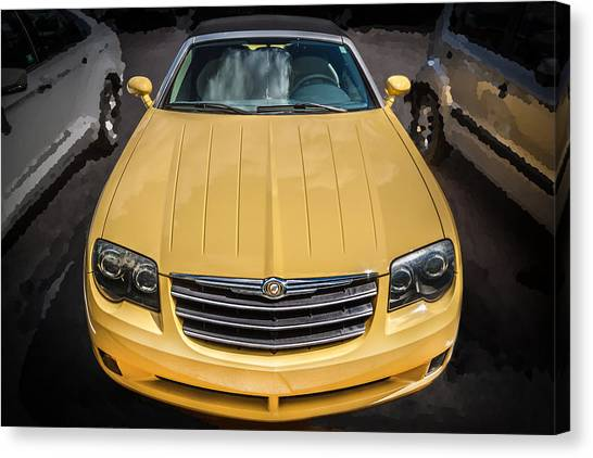 2008 Chrysler Crossfire Convertible  Canvas Print