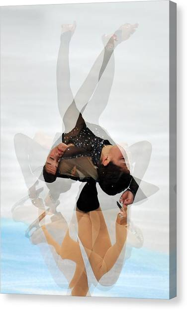 Figure Skating Canvas Print - 2012 European Figure Skating by Science Photo Library