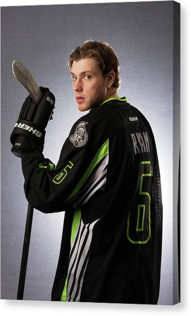2015 Honda Nhl All-star Portraits Canvas Print by Gregory Shamus
