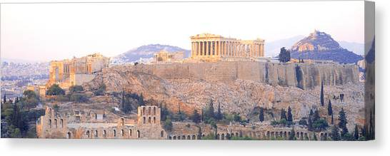 The Parthenon Canvas Print - Acropolis, Athens, Greece by Panoramic Images
