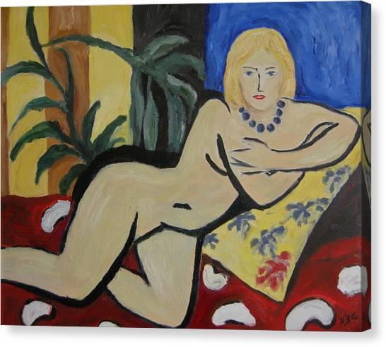 After Matisse Canvas Print