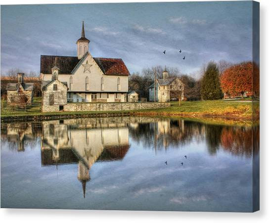 Afternoon At The Star Barn Canvas Print