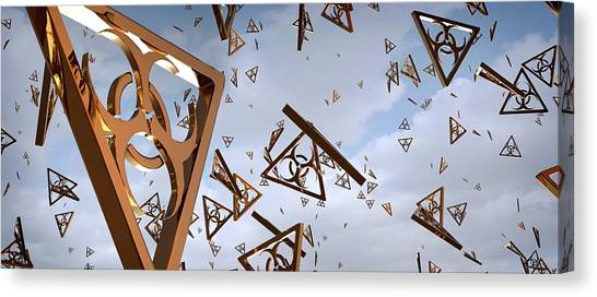 Biohazard Canvas Print - Airborne Infection by Tim Vernon